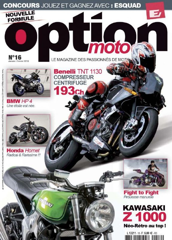 Option Moto N°16 Janvier Février 2013