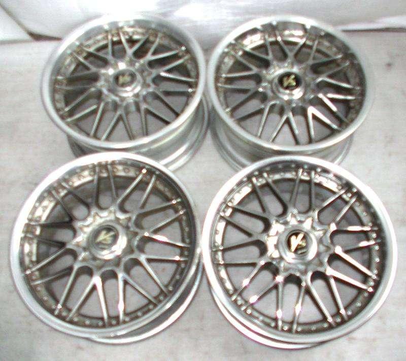 WORK VS-MX Alloy wheels rims 18 8J 9J 5x114 4x114 180sx Accord L