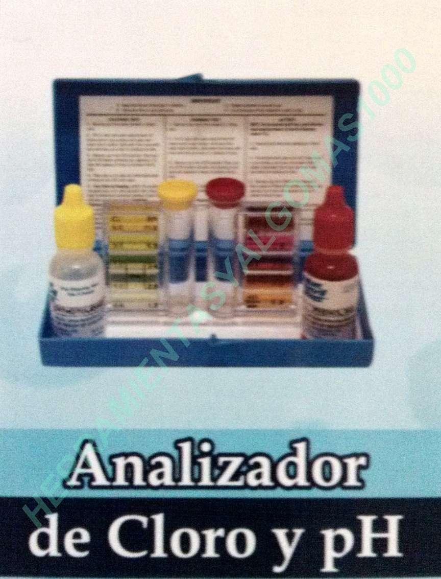 ANALIZADOR DE PH Y CLORO