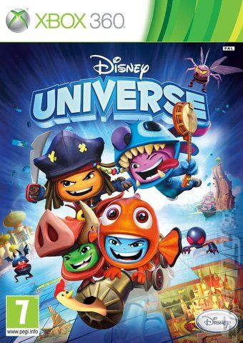 Disney Universe (2011) XBOX360-SPARE RF