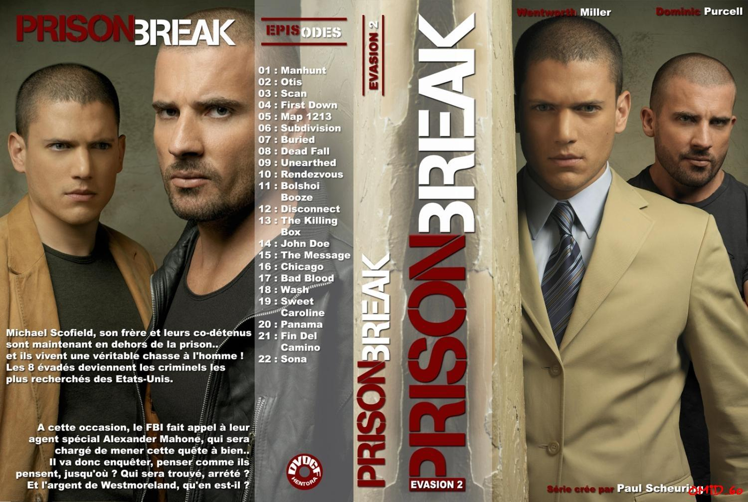 Prison Break Season 2, Vượt Ngục Season 2