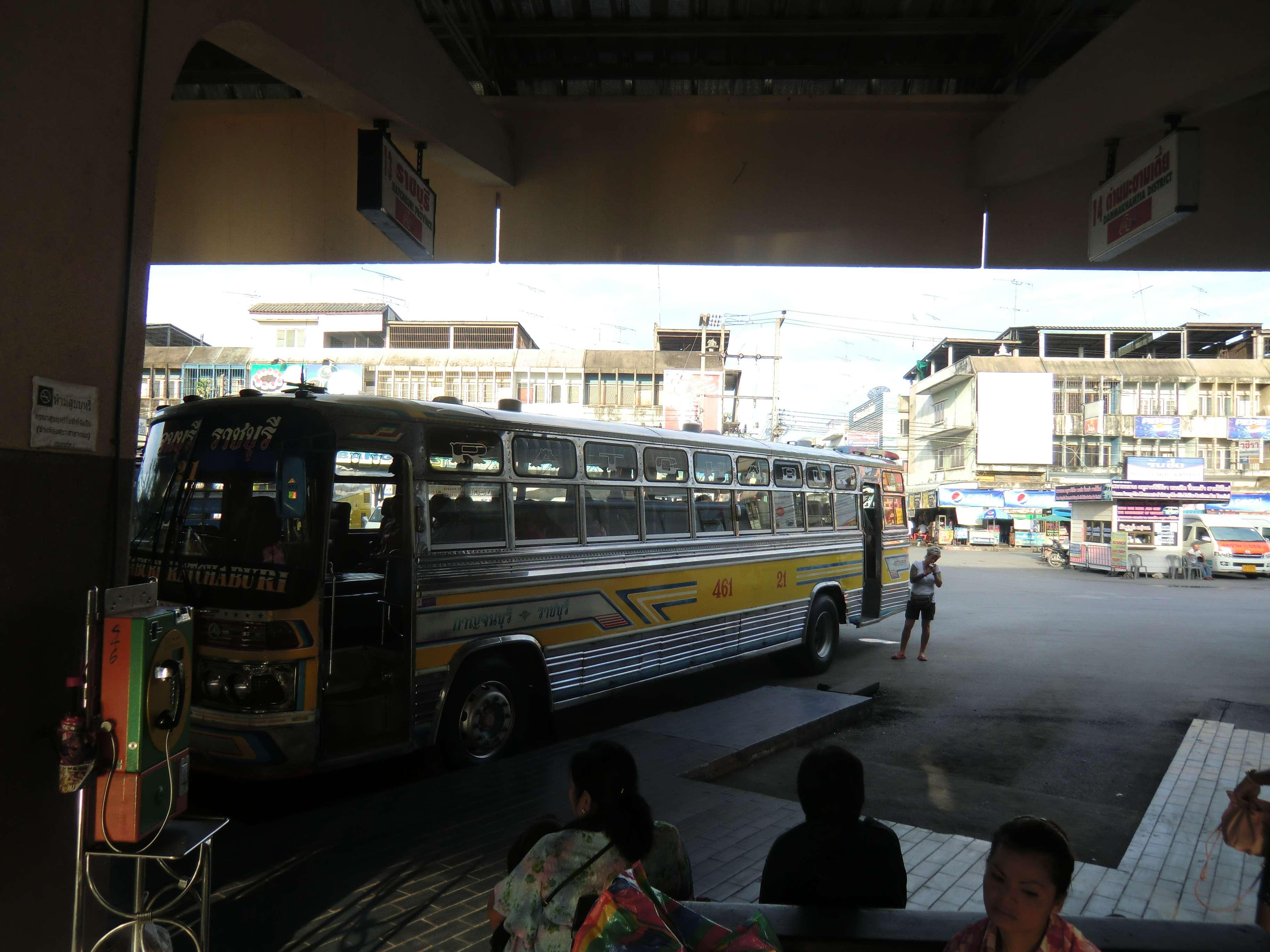 wieder mal ein Bild von unserem Bus