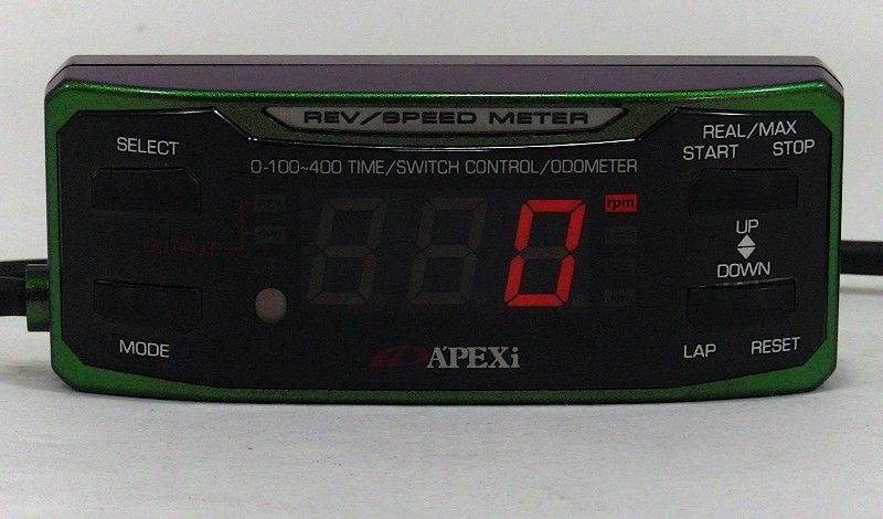 APEXI REV RSM Speed meter SLD *Limited Edition*