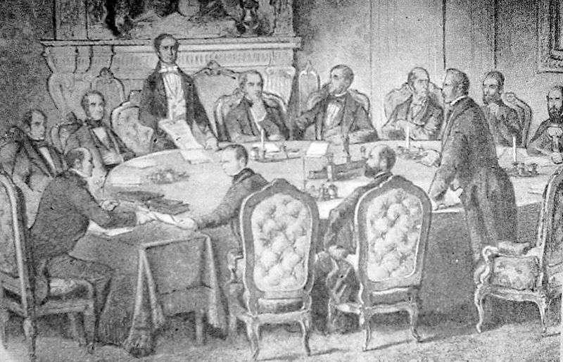 ATCache: Парижский мирный договор (1856) - Википедия