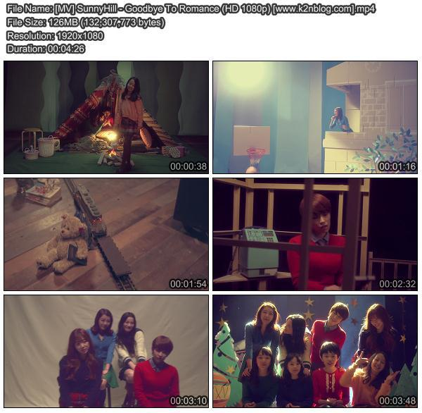 [MV] SunnyHill - Goodbye To Romance (HD 1080p Youtube)